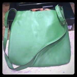 Handbags - Green crossbody purse